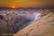 Augrabies waterval - Augrabies falls
