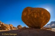 Graniet blokken - Granite boulders