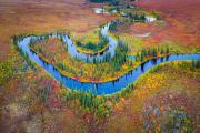Meanderend riviertje - Meandering river