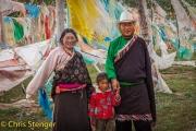 Tibetaanse familie - Tibetan family