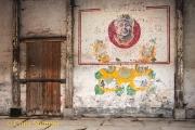 Muurschildering - Wall painting