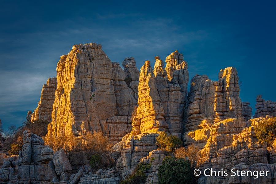 Kalksteen rotsen - Limestone cliffs