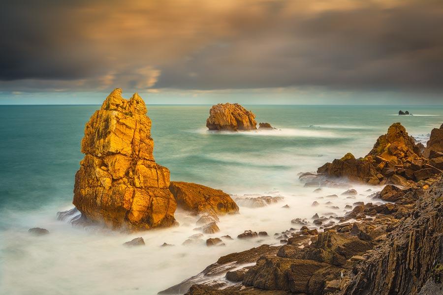 Kust Cantabrie Spanje - Cantabrian coast Spain