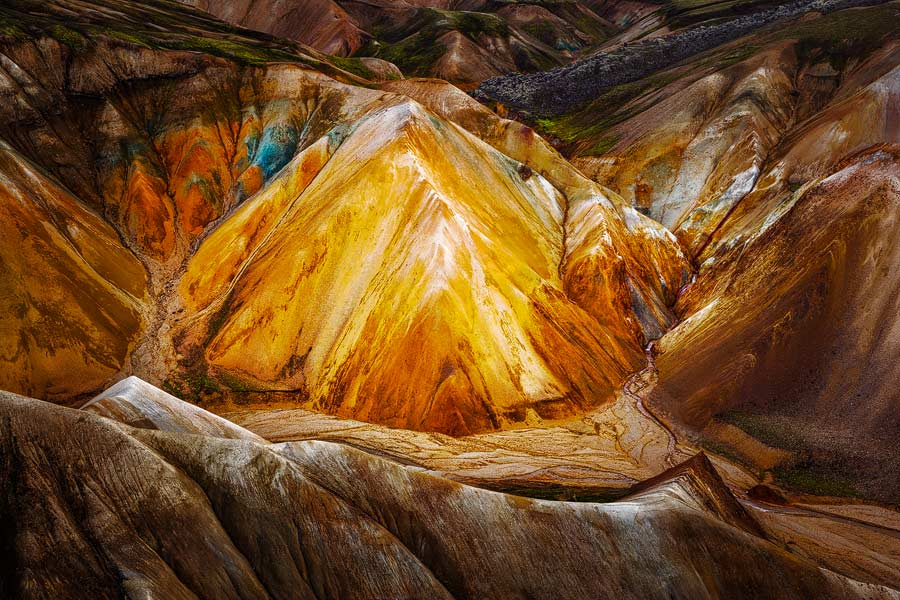 Vulkanisch landschap - Volcanic landscape