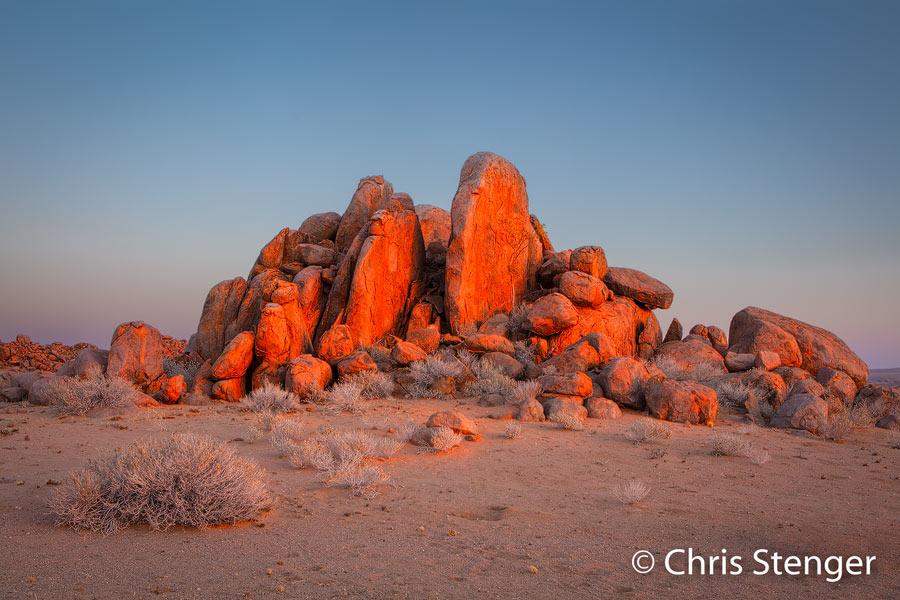 Woestijn landschap - Desert landscape