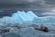 IJsfjord bij Ilulissat-Icefjord at Ilulissat