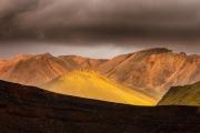 Vulkaan landschap - Volcanic landscape