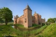 Kasteel Doornenburg bij Huissen - Doornenburg castle near Huissen