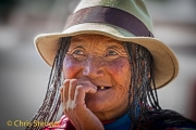 Tibetaanse vrouw, China - Tibetan woman