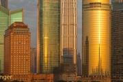 Wolkenkrabbers Shanghai-Skyscrapers Shanghai