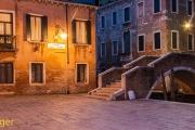 Venetie bij nacht-Venice at night