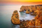 Steilkust Algarve - Rocky coast Algarve