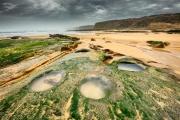 Strand bij Liencres in noord Spanje