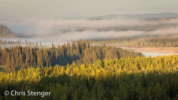 Ik maakte deze foto op 5 september en het landschap maakt nog steeds een zomerse indruk