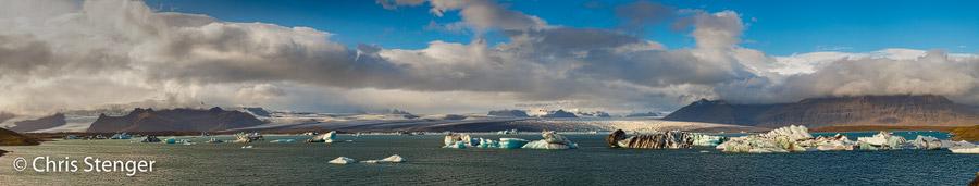 IJsmeer Jökullsarlon in het zuiden van IJsland bij de gletsjer Vatnajökull