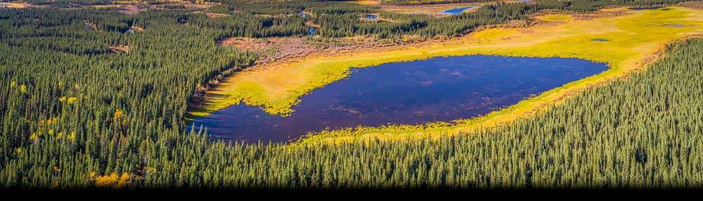 Luchtfoto's gemaakt met een drone geven een spectaculair en vaak onverwacht beeld van de wereld
