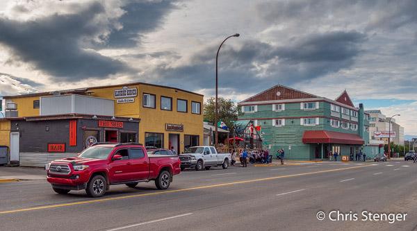 Whitehorse is de hoofdstad van de Canadese provincie Yukon, die grenst aan Alaska