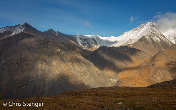 Het landschap in de Brooks Range is spectaculair en woest. Het grootste deel van deze bergketen is onderdeel van het Gates of the Arctic National Park