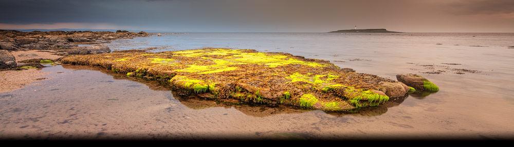 Dit strand ligt helemaal in het zuiden van het Isle of Arran in Schotland bij de plaats Kildonan
