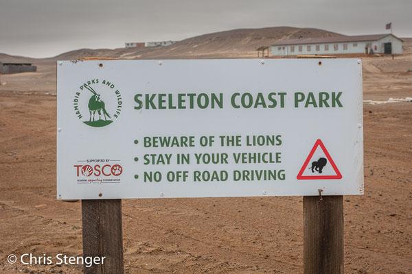 We hebben ze helaas niet gezien gedurende ons verblijf in het Skeleton Coast Park