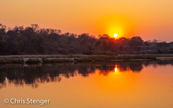 Het Kavango district ontleent z'n naam aan de Okavango rivier die door dit gebied stroomt