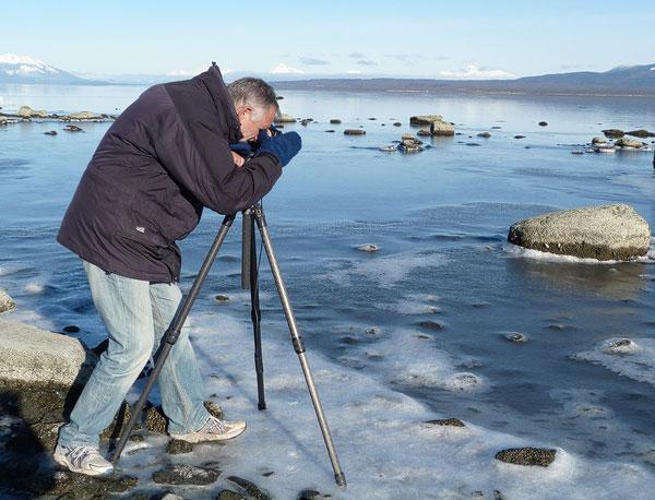 Chris Stenger Natuurfotografie, Landschapsfotografie en Reisfotografie: fotograferen in Patagonie in de winter