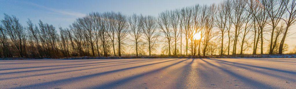 Chris Stenger Natuurfotografie: uiterwaarden van de Rijn bij Gendt in Gelderland in de winter