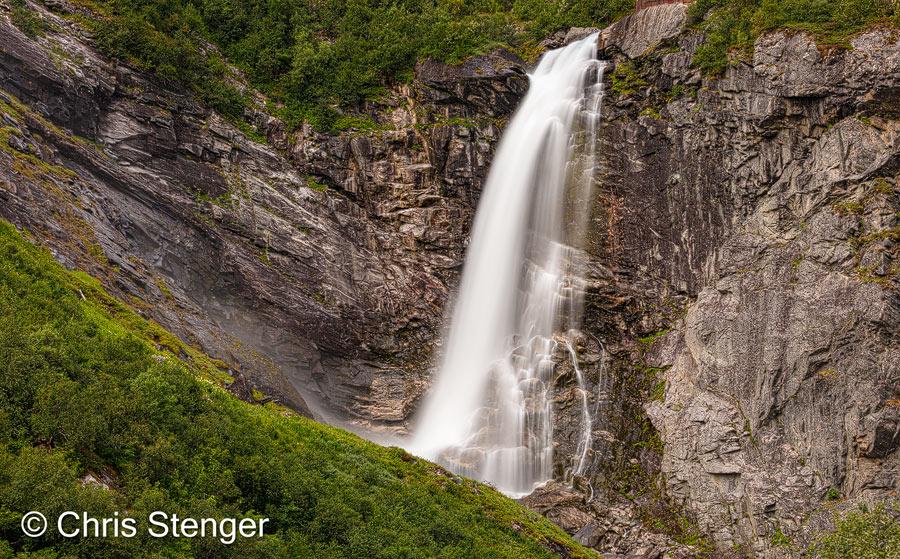 Heel veel watervallen gefotografeerd op deze trip naar Scandinavië. Wat cliché wellicht, maar ik kan ze altijd nog gebruiken in een composiet foto.